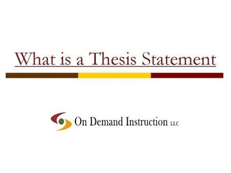 what are the parts of a thesis? - tcdhallscom